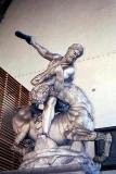 Hercules fighting the Centaur Nessus, by Giambologna, 1599, Loggi della Signoria