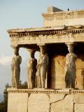 Kariatides (Porch of the Caryatids 407 B.C.), Erechtheion