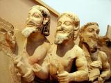 Erechtheus Battling Hercules, 550 B.C., Acropolis Museum