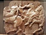 Pieces from the Panathenaic frieze, Acropolis Museum