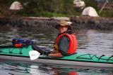 Roy kayaking