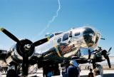 Confederate Air Force B-17 Sentinental Journey at Davis-Monthan AFB airshow 3/2003