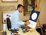 Painter, Iranian Pavilion