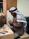 Woodcarver, Palestinian Pavilion