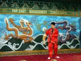 Martial Arts Performer, Chinese Pavilion