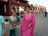 Indian women at the Dubai Shopping Festival