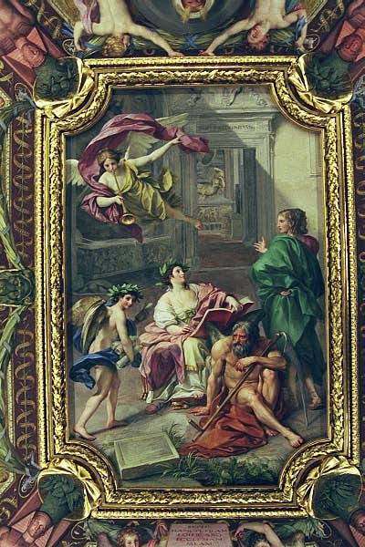 Ceiling - Salle des Papyrus - Vatican Museum