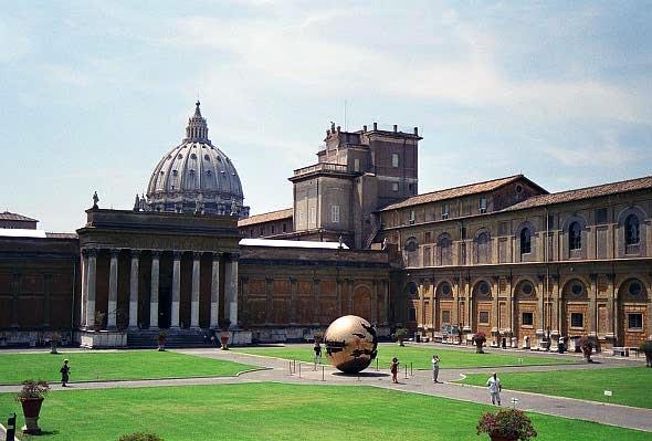 Cortile della Pigna, Vatican Museum