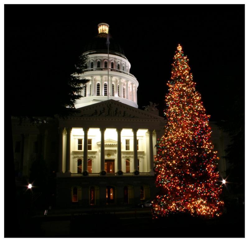 Sacramento Christmas Capitol
