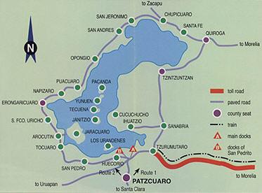 Patzcuaro Area Map photo   Zane Paxton photos at pbase.com