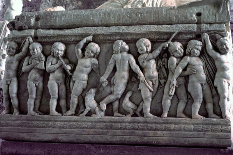 alanya side museum sarcophagus