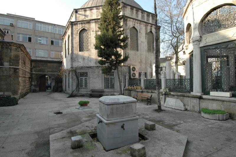 Köprülü  mosque from kulliye court