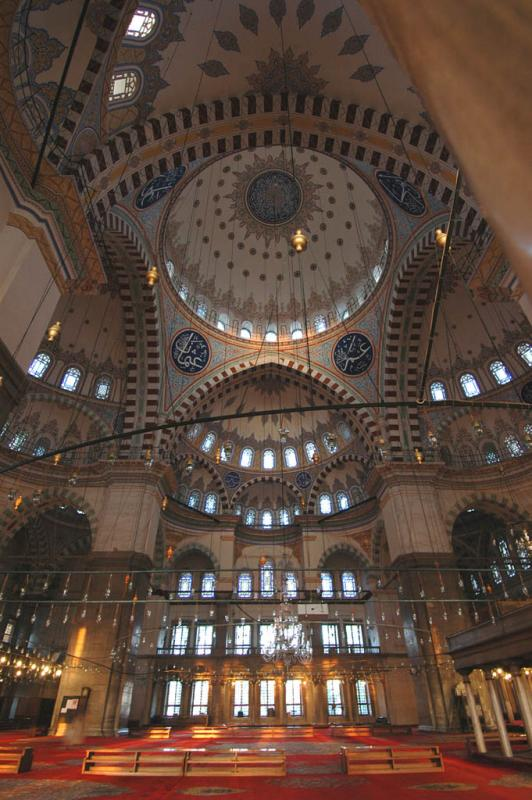 Fatih Mosque  East side