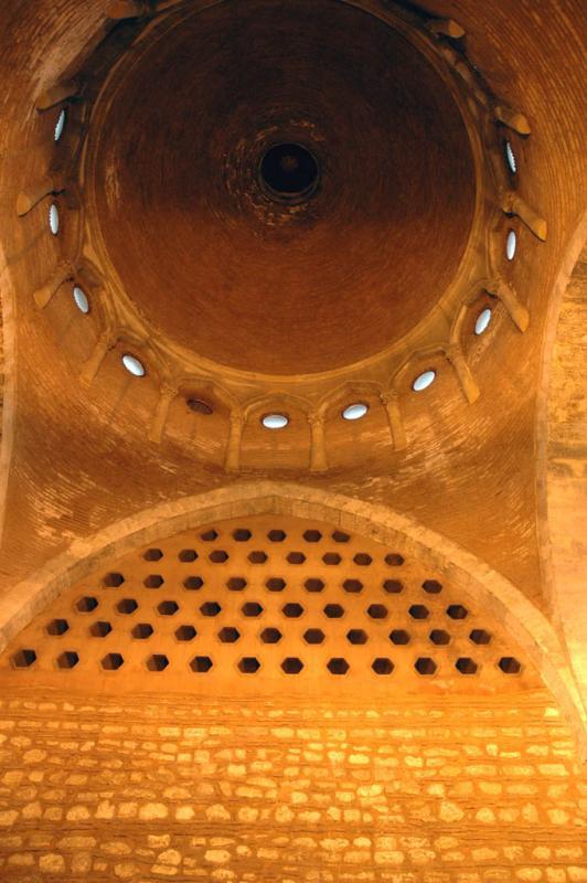 Tophane interior