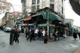 Nurosmaniye Kulliye shops corner