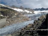 Rhonegletscher / Rhone glacier (Valais)