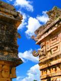 Skies between Temple of Jaguar & School of Priests