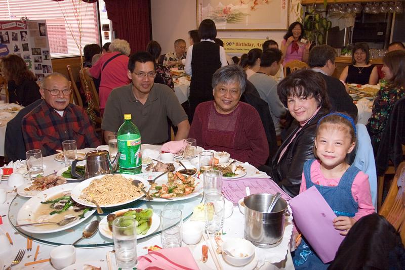 David, Craig, Gwen, Lynn and Madison