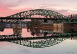 Whittier Bridge reflection
