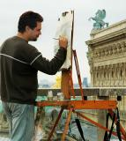 Painting the opera