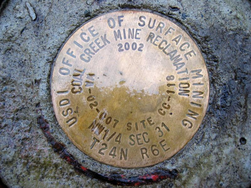 Mine Shaft Medallion