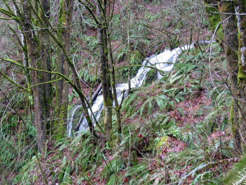 Far Country Falls<br>Indian Trail</br>