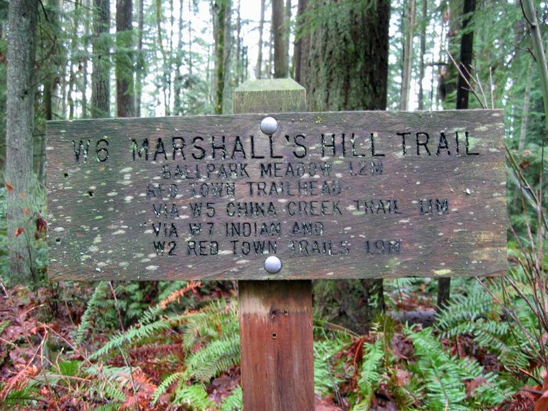 Marshalls Hill Trail
