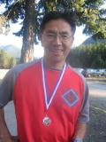 Don and his USATF award