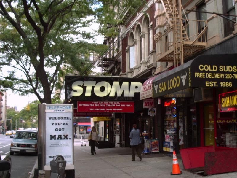 Stomp at the Orpheum Theater