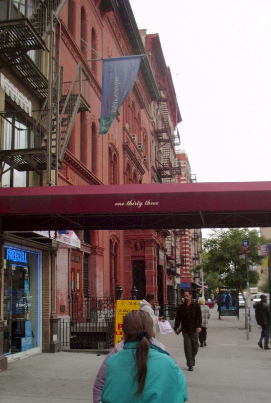 2nd Ave Library above 8th Street