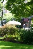 Entrance to the Garden on Greenwich Avenue