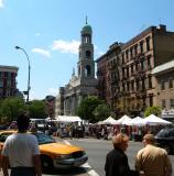 View of Our Lady of Pompei Church at Father Demo Square