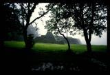 Yacatas in Rain