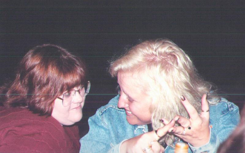 Lori and Jackie
