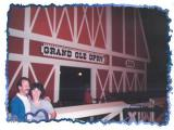 Susan and Jack on the Opry stage