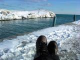 Ice feet  by the lake -  [ Winter II ]