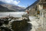 The valley of the Kali Gandaki river