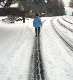 Carol in Snow 2