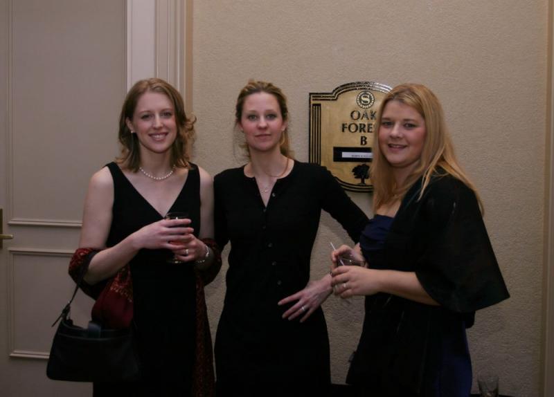 Jenny, Claire, and Dessari