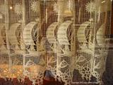 lace curtains, St Malo
