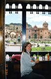 arrived in Cusco, Peru