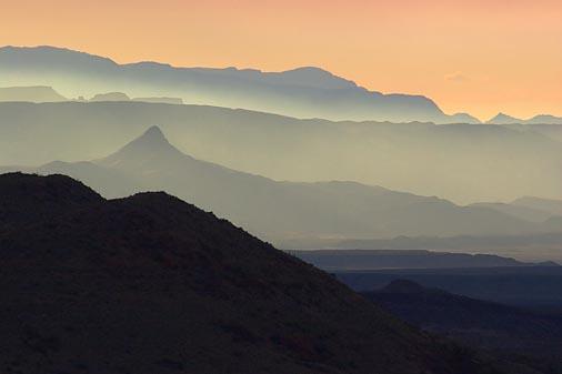 Big Bend at Sunset 6541