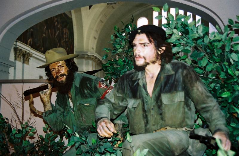 Wax figures at the Museum De La Revolution, Che and Camilo