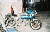 Motorcycles in Cuba