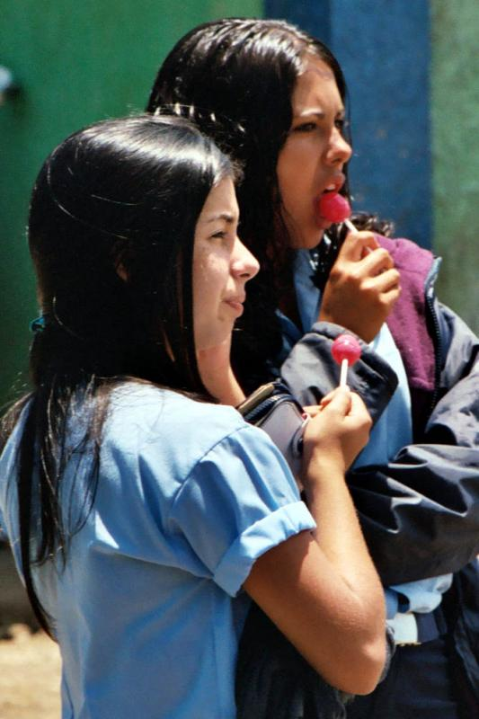 Students, Santa Elena