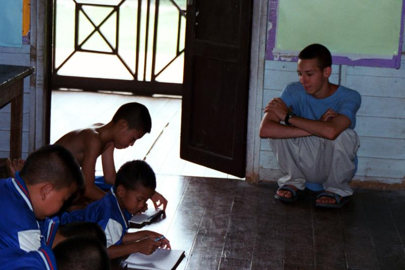 Self Portrait: Teaching in Thailand