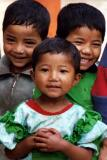 Three Kids in Dhulikhel
