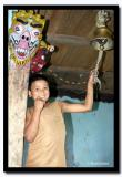 Ringing the Bell at the Lepcha Monastery, Git Dubling
