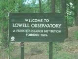 Welcome to  Lowell Observatory  a private research facility  founded 1894