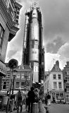 Space craft in the Dutch town of Utrecht